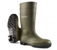Dunlop Green PVC Safety Wellington Boot - Various Sizes