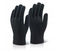 Black Thermal Gloves