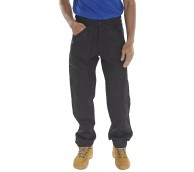 Black Action Work Trousers - Various Sizes