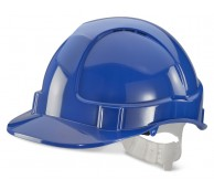 Economy Vented Safety Helmet - Various Colours