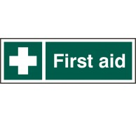 Self Adhesive First Aid Sign - Pack of 5