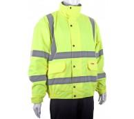 Yellow Hi Viz Constructor Jacket - Various Sizes