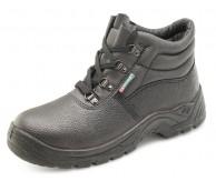 Black Chukka Safety Work Boot