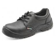 Black Safety Lace Up Work Shoe Size 8