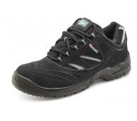 Black Safety Trainer Shoe
