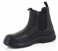 Black Dual Density Click Dealer Boot - Various Size