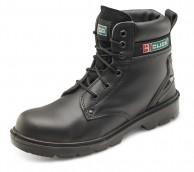 Black Dual Density PU Eyelet Boot - Various Sizes