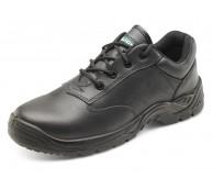Black Lace Up Composite Shoe with SRC Sole - Various Sizes