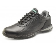 Black Safety Trainer Shoe - Various Sizes