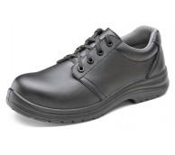 Black Microfibre Tie Shoe - Various Sizes