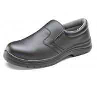 Black Microfibre Slip on Shoe - Various Sizes