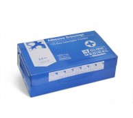 Assorted Blue Detectable Plasters - Pack of 120