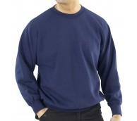 Navy Polycotton Sweatshirt - Various Sizes