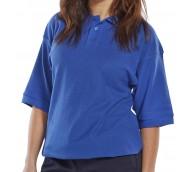 Royal Blue Premium Poloshirt - Various Sizes