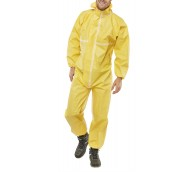 Disposable Coverall Yellow
