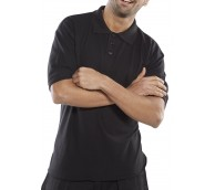 Black Premium Polo Shirt - Various Sizes
