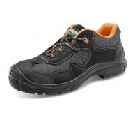 Black Non Metallic Trainer Shoe - Various Sizes