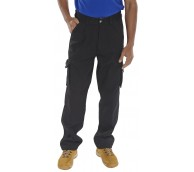 Black Click Trader Newark Trousers - Various Sizes