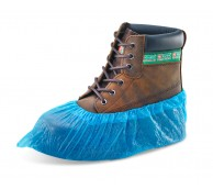2.7g Blue Disposable Overshoes - Machine Made