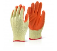 STGP1209 M/P Orange Latex Palm Coated Gloves