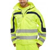 Hi Viz Eton Jacket - Various Sizes