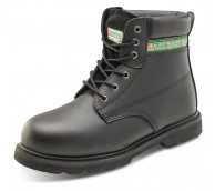 Black Goodyear Welted Safety Boot - Various Sizes