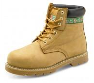 Tan Nubuck Goodyear Welt Boot - Various Sizes
