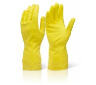 Yellow Household Rubber Gloves - Various Sizes