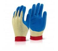 Kevlar Latex Gloves Blue