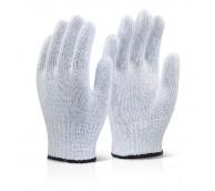 White Mixed Fibre Gloves