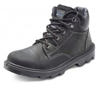 Black Sherpa Mid Cut Safety Boot - Various Sizes