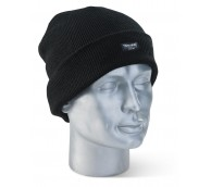 Black Thinsulate Thermal Beenie Hat