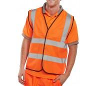 Orange Hi Viz Vest - Various Sizes