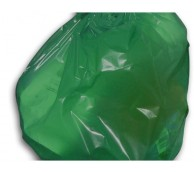 Green Flat Packed Waste Bag