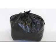 MDPE Black Refuse Sack 22x33x47