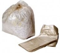 "Clear Waste Sack  20"" x 33"" x 47"""