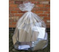 Clear Flat Packed Refuse Sack