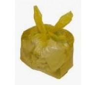 Yellow Refuse Sacks 18x29x39