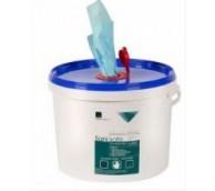 GIS Blue Polyprop Sanisafe 3 Bucket Wipe 20cm x 20cm