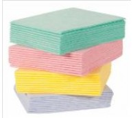 Hydromax Softee Quarterfolded Cleaning Cloth - Various Colours