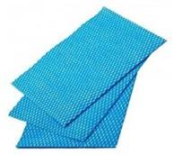 Viscose Wipes 30cm x 50cm - Blue Pack of 50