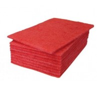 Red Scourers 23 x 15cm(10/Pack)