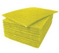 Yellow Scourers - pack of 10
