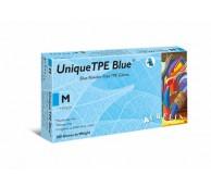 Unique Blue TPE Gloves - Various Sizes