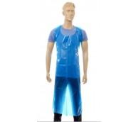 100 Micron Blue Disposable Apron 142cm - Flat Pack
