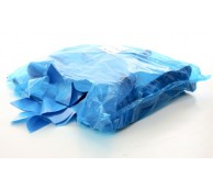 10 Micron Blue Disposable Aprons on a roll - 106cm Long
