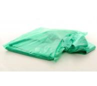 13 Micron Green Disposable Apron 106cm Long - Flat Pack