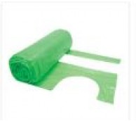 13 Micron Green Disposable Aprons on a roll - 106cm Long
