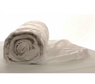 10 Micron White Disposable Aprons on a roll - 101cm Long