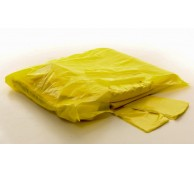 13 Micron Yellow Disposable Apron 106cm - Flat Pack